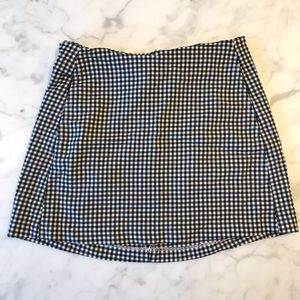 Urban Outfitters checkered skirt size S